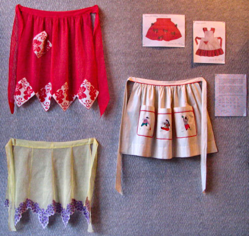 Jean Adler, A Musician, Mother, And Wife In Monticello, Wisconsin Shares  Her Apron Collection With The Dining Room At 209 Main: Part 91