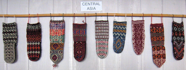 Ethnic Socks from Central Asia